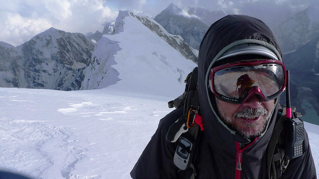Chris Warner on Makalu